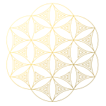 CA0063 Mandala Geometry Patterns-Gold-01