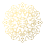 CA0063 Mandala Geometry Patterns-Gold01